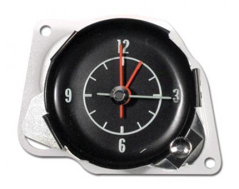 Corvette Clock, Electric Reproduction, 1968-1971