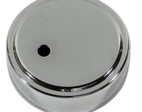 Corvette Clutch Master Cyl Cap Cover, Chrome, 1997-2004