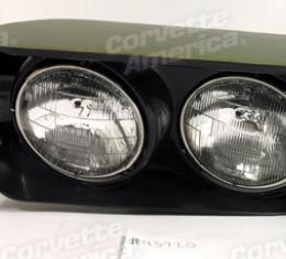 Corvette Headlight Assembly, Left, 1968-1974