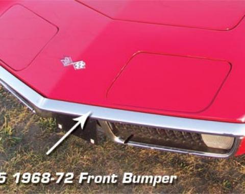 Corvette Front Bumper, Usa, 1968-1972