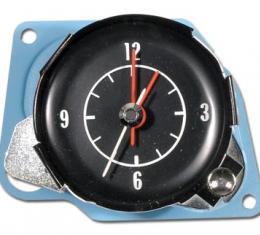 Corvette Clock, Electric Reproduction, 1972-1974