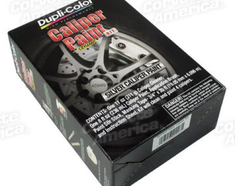 Corvette Caliper Epoxy Paint Kit, Silver
