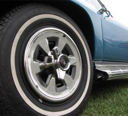 Corvette Wheel Covers, with Spinners, 1965