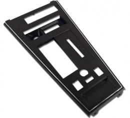 Corvette Shift Console Plate, Collector with Power Windows & Power Mirror, 1982