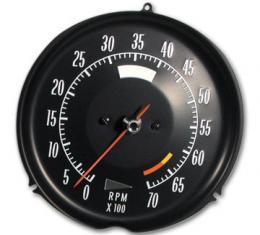 Corvette Tachometer, 6500 RPM, 1972-1974