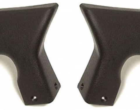 Corvette Lock Pillar Covers, Upper, Convertible, 1994-1996
