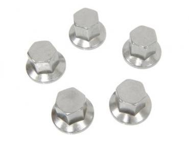 Corvette Aluminum Wheel Lug Nuts, 1976-1982