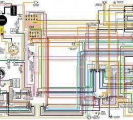 Corvette Color Wiring Diagram, Laminated