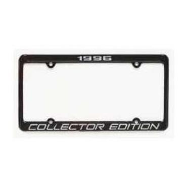 Corvette License Frame, Collector Edition, 1996