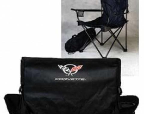 Corvette Folding Arm Chair, With C5 Emblem