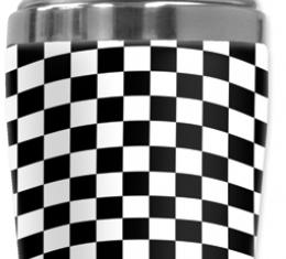 Mugzie Cocktail Shaker, Hot Or Cold, Checkered Flag