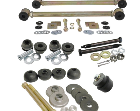 Corvette Rear Suspension Bushing Kit, with Adjustable Strut Rods, 1963-1979