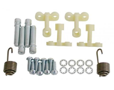 Corvette Headlight Mounting & Adjusting Hardware Kit, 1958-1982