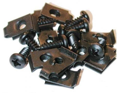 Corvette Grille Mount Screw Set, 20 Piece, 1975-1979