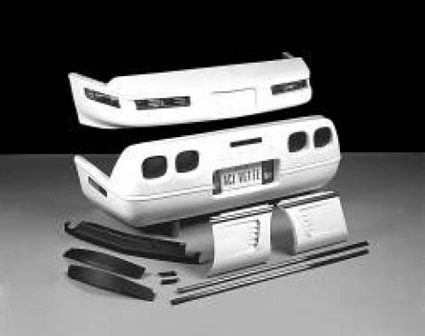 Corvette Style Body Upgrade Kit, C5 Rear Bumper, (ACI), 1984-1990