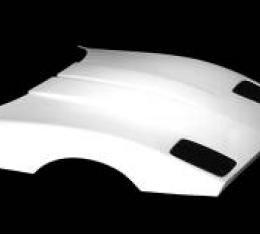 Corvette Stock Design Hood, ACI, 1989-1996