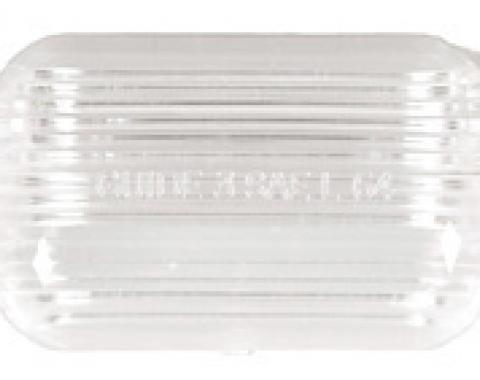 Classic Headquarters License Plate Light Lens W-338