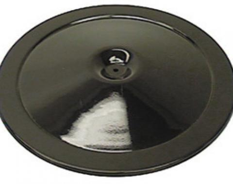 Classic Headquarters Black Air Cleaner Lid, Cowl Induction W-244A