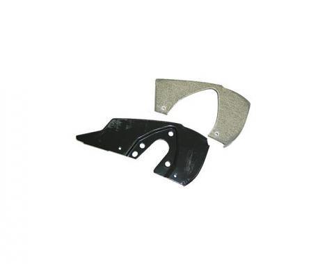 Corvette Headlight End Plate Assembly Inner Right, 1963-1967