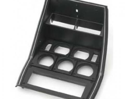 Corvette Custom Instrument Cluster Bezel, For DIN Radio, 1981-1982