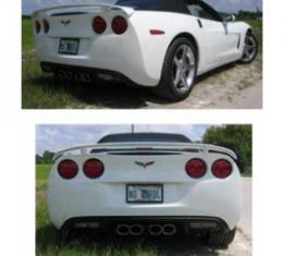 Corvette Wing, Rear, Street Racer, John Greenwood Design, 2005-2013