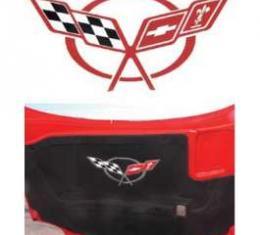 Corvette Hood Insulation Pad Decal,1997-2004