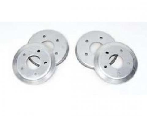 Corvette Brake Rotor Hub Covers, Paint To Match, For Cars With Z51 & F55 Option, 2005-2013
