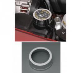 Corvette Radiator Reservoir Cap Cover, Chrome, 2005-2013