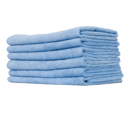 Microfiber Light Blue Utility Towel, Surf City Garage