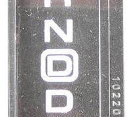 Corvette Shift Indicator Lens, Automatic Transmission, 1994-1996