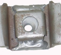 Corvette Body Mount, on Frame With Cage and Nut, 1975-1982
