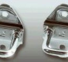 Corvette Chrome Hood Latch Striker Set, 1997-2013