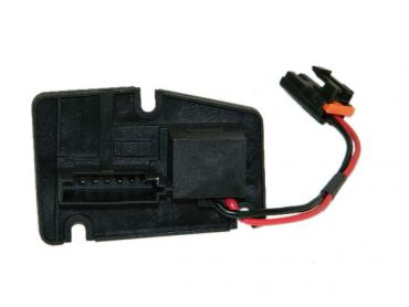 Corvette Heater/Air Conditioning Blower Motor Resistor, Except Dual Zone, 1997-2004