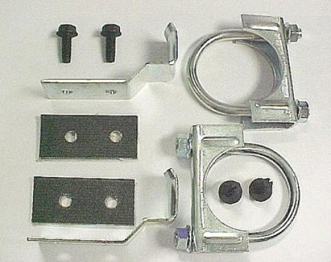 Corvette Center Hanger Kit, 2 Automatic with Dual Exhaust, 1974-1979