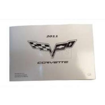 Corvette Owners Manual, 2011
