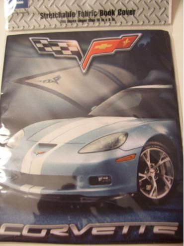 Corvette C6 Stretchable Fabric Book Cover