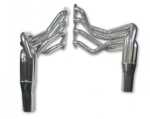 Corvette Hooker Super Competition Sidemount Headers Big Block, Ceramic Coated, 1968-1982