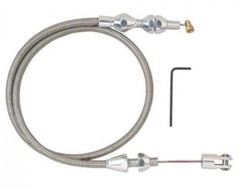 "Universal LS1/350 Ramjet Engine Throttle Cable, 36"", Cut to Fit"