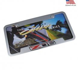 Corvette Elite License Frame, 01-04 Z06
