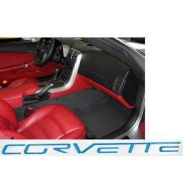 Corvette C6 Dash Lettering Kit, 2005-2013   Jet Stream Blue