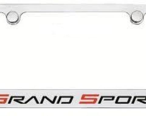 Corvette Elite License Frame, Grand Sport