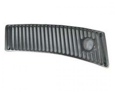 Corvette Windshield Wiper Vent Grille, Chrome, Right, 1963-1967