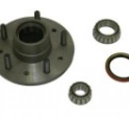 Corvette Front Wheel Hub, with Bearing and Grease Cap, 1969-1982