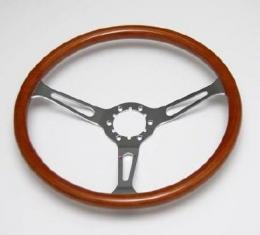 Corvette Steering Wheel, S6 Vintage Series Wood, 1963-1982