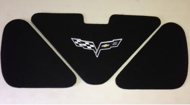 Corvette Trunk Liner, with C6 100th Logo, 2005-2013