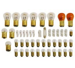 Corvette Light Bulb Kit, 39 Piece, 1977