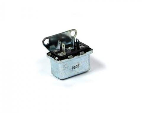 Corvette Air Conditioning Relay, Hi-Blow, 1977-1979 & Windshield Wiper Relay, 1968-1971