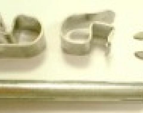 Corvette Brake Caliper Guide Pin, Front, With Clips and Retainer, 1988-1996