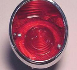 Corvette Taillight Assembly, Left, Outboard, 1963-1967