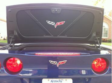 Corvette Trunk Liner, with C6 Logo, 2005-2013